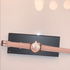 NWOT CHARMING CHARLIE ROSE GOLD WATCH